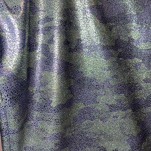 LUXE faux leather Camo leggings